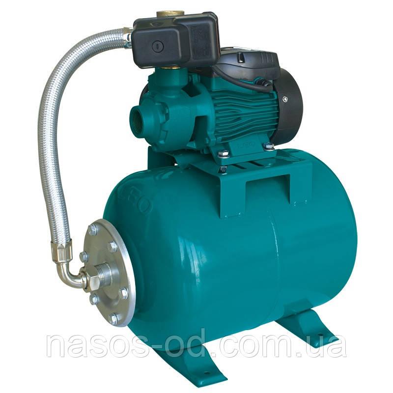Насосная станция гидрофор Leo для воды 0.37кВт Hmax40м Qmax40л/мин (вихревой насос) 24л (776132)