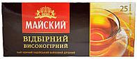 """Чай черный Майский """" Високогірний"""" 25шт"""