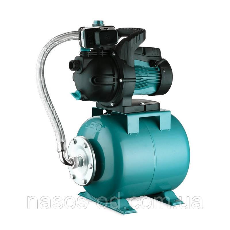 Насосная станция гидрофор Leo для воды 1.1кВт Hmax43м Qmax70л/мин (самовсасывающий насос) 24л (776204)