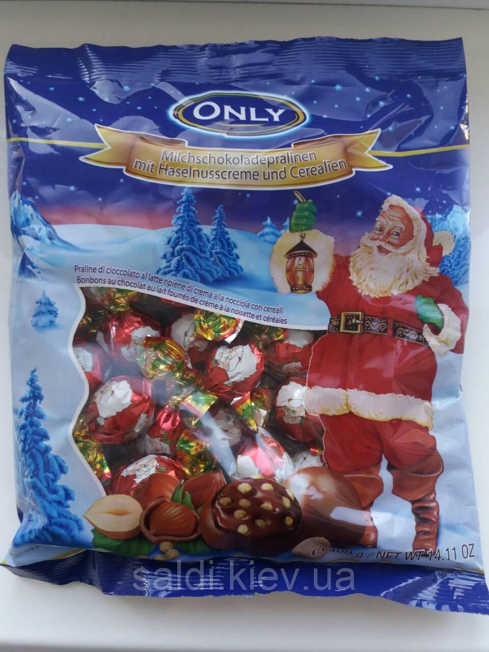 Новогодний набор конфет Only, 400 гр