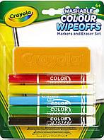 Игра Crayola Фломастеры для письма на доске (98-9302)