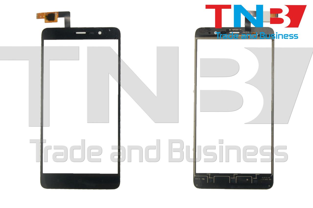 Сенсор Xiaomi Redmi Note 3 Pro SE Черный ОРИГ