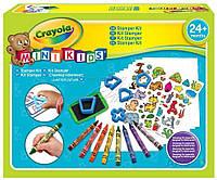 Игра Crayola Набор для творчества со штампами (81-1359)