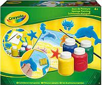 Игра Crayola Набор для рисования гуашью со штампами и валиком (5314)