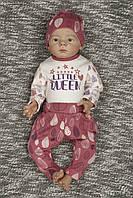 Комплект для девочки Маленькая королева рр 62-86