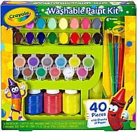 Игра Crayola Большой набор для творчества с красками и кисточками 40 элементов (54-0155)