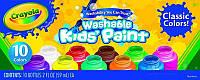 Игра Crayola Краски для малышей 10 цветов (54-1205)