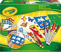 Игра Crayola Набор для рисования с трафаретами (5310)