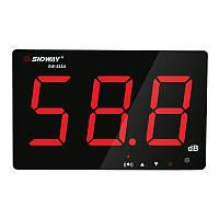 SNDWAY SW-525A Цифровой измеритель уровня звука Измеритель шума Decibel 30 ~ 130db Большой экран Дисплей Настенный винт Тип