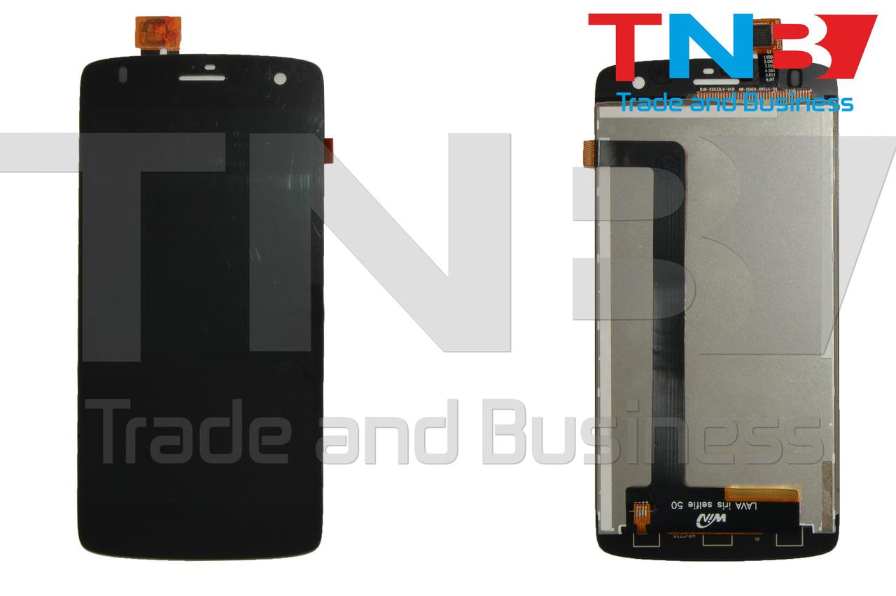 Сенсор+матрица Fly IQ4503 Черный