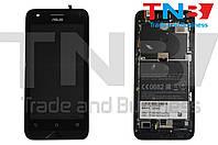 Сенсор+матрица Asus ZenFone С Черный ОРИГИНАЛ