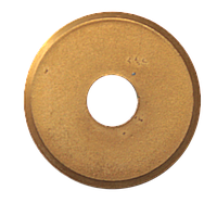 Колесо сменное для плиткореза, карбид вольфрама, нитрид-титановое покрытие 22х6х2мм