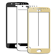 Защитное стекло Full Cover на Moto E4 Gold