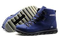 Мужские зимние кожаные ботинки CAT Expensive Submarine