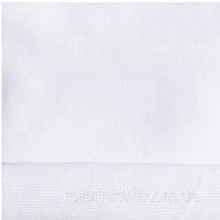 Трикотажная ткань интерлок 30/1 ПЕНЬЕ хлопковый однотонный белый