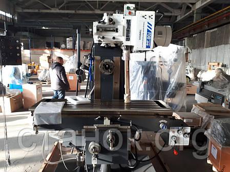 FDB Maschinen TMM 800 широкоуниверсальный консольно гор-вертикально-фрезерный станок по металлу фдб тмм, фото 2