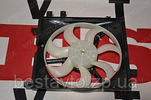 Вентилятор радіатора в зборі з дифузором ii лівий ck/mk/mk2