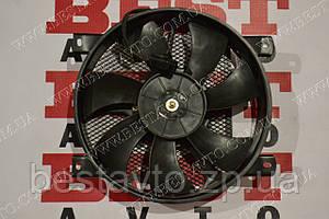 Вентилятор радіатора кондиціонера в зборі з дифузором ck