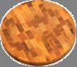 Доска торцевая круглая 300*35 мм дерево Украина ДТК300