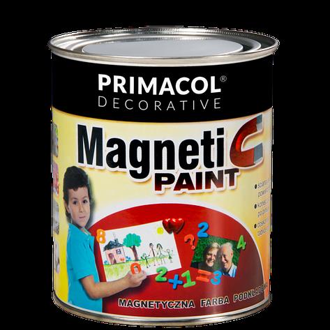Магнитная краска-грунт Primacol, 0.75л на 1.25 кв.м., фото 2