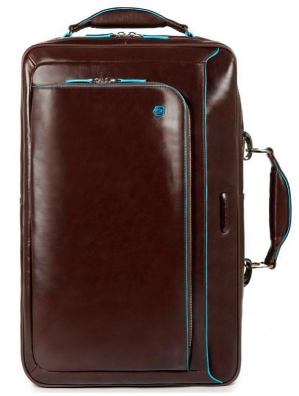 4d8da16452b4 Сумка-рюкзак Piquadro Blue Square из кожи для ноутбука 15,6