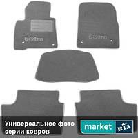 Модельные коврики в салон Mercedes S-Class (W220) 2002-2005 Компл.: Полный комплект (5 мест)