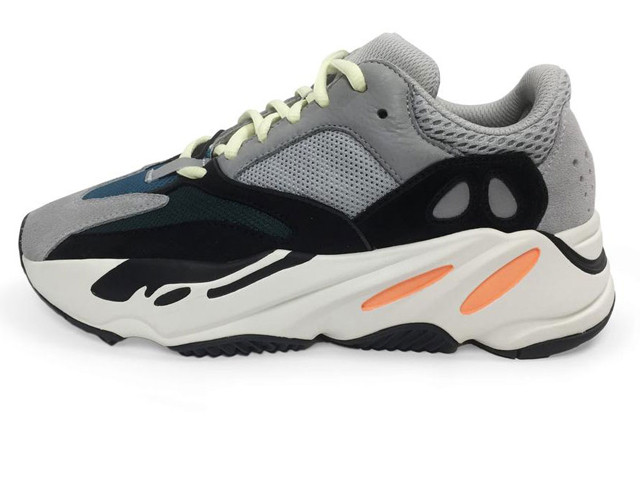 a2dd2754 Мужские кроссовки Adidas Yeezy Boost 700 Solid Grey/Chalk White-Core Black ( Реплика