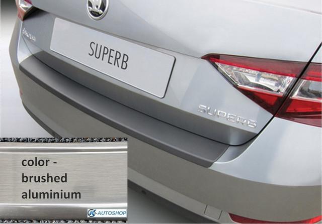 RBP864 Rear bumper protector Skoda Superb 2015> ALU