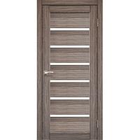 Межкомнатная дверь Porto PR-01 со стеклом сатин