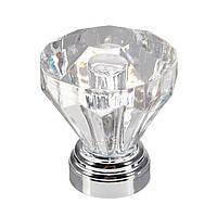 4шт 25мм алмазный прозрачный хрустальный дверной ручкой Шкаф Шкаф Шкаф Шкафчик