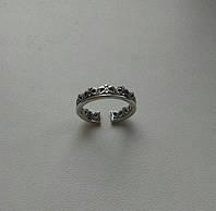 Корона - серебряное кольцо 925 пробы