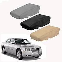Кожаная консольная крышка подлокотника для крыши подходит для Chrysler 300 2008-2010