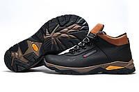 Мужские зимние ботинки Columbia, на меху, черные, р. 41 42 43 44 45