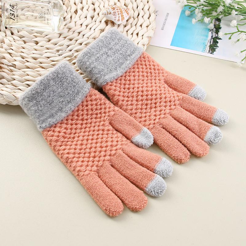 Перчатки для сенсорных экранов Touch Gloves Liberty terracotta
