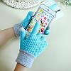 Перчатки для сенсорных экранов Touch Gloves Liberty crimson, фото 2