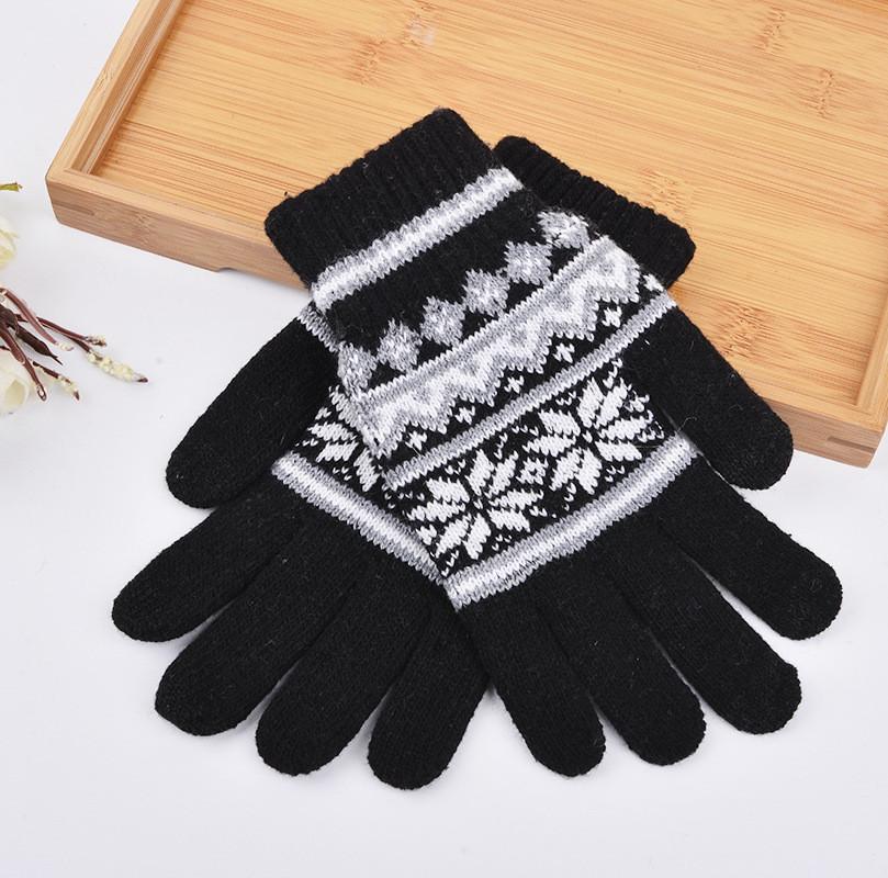 Перчатки для сенсорных экранов Touch Gloves SnowStars black
