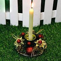 Рождество Винтаж Подсвечник для свечей Романтический подсвечник