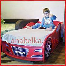 """Кроватка Машина """"Ягуар"""" (Mebelkon), фото 3"""