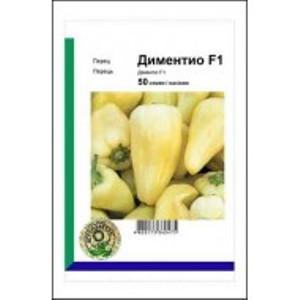 Семена перца Диментио F1 (Syngenta/АГРОПАК+) 50 семян — ранний (58-63 дней), конической формы, сладкий
