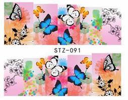 """Слайд для дизайна ногтей STZ-91 """"Beauty"""""""