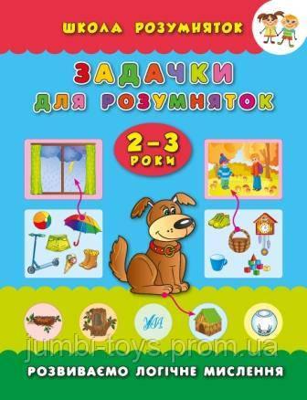 Школа розумняток: Задачки для розумняток. 2–3 роки