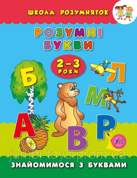 Школа розумняток: Розумні букви. 2–3 роки