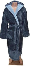 Мужской махровый длинный халат