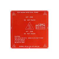 Нагревательная панель для 3D-принтера 214 мм. x 214 мм. Heated Bed MK2A