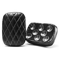 Задний пассажирский пиллинг кожаный сидения Pad 6Suction 8 присоски для Harley Softail Dyna