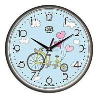 """Часы настенные ЮТА Classic """"01 S 58"""" 300х300х45 мм"""