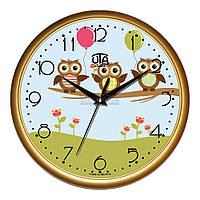 """Часы настенные ЮТА Classic """"01 G 64"""" 300х300х45 мм"""