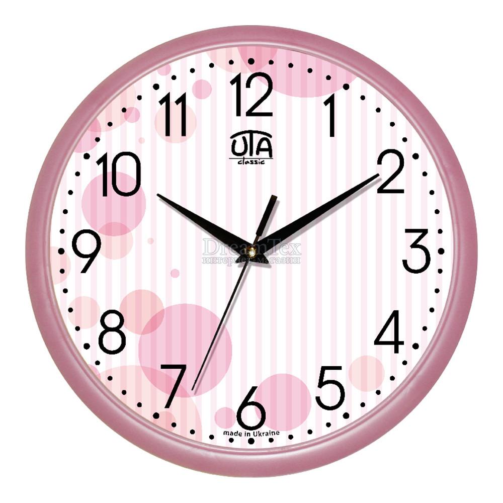 """Часы настенные ЮТА Classic """"01 P 71"""" 300х300х45 мм"""
