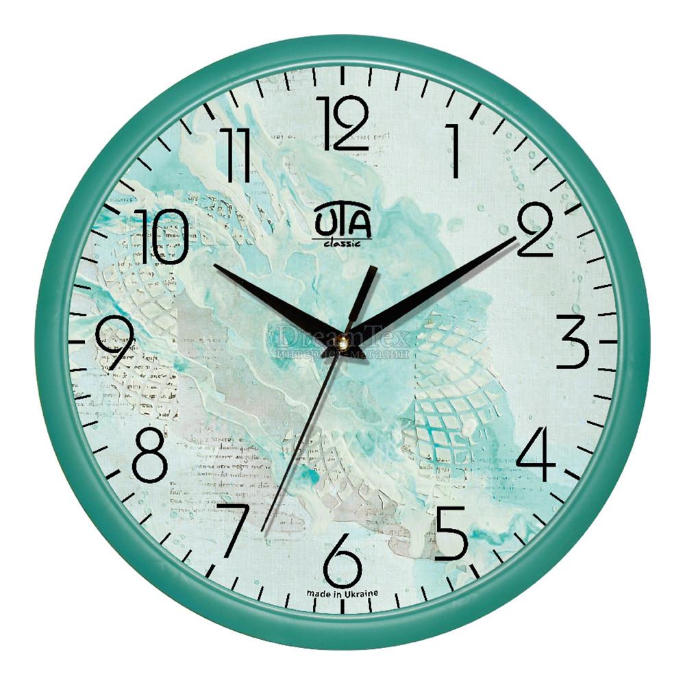 """Часы настенные ЮТА Classic """"01T73"""" 300х300х45 мм"""