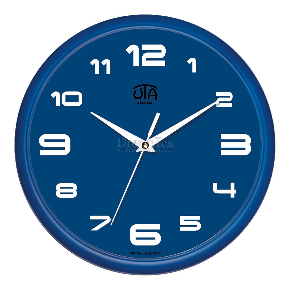 """Часы настенные ЮТА Classic """"01 BL 79"""" 300х300х45 мм"""
